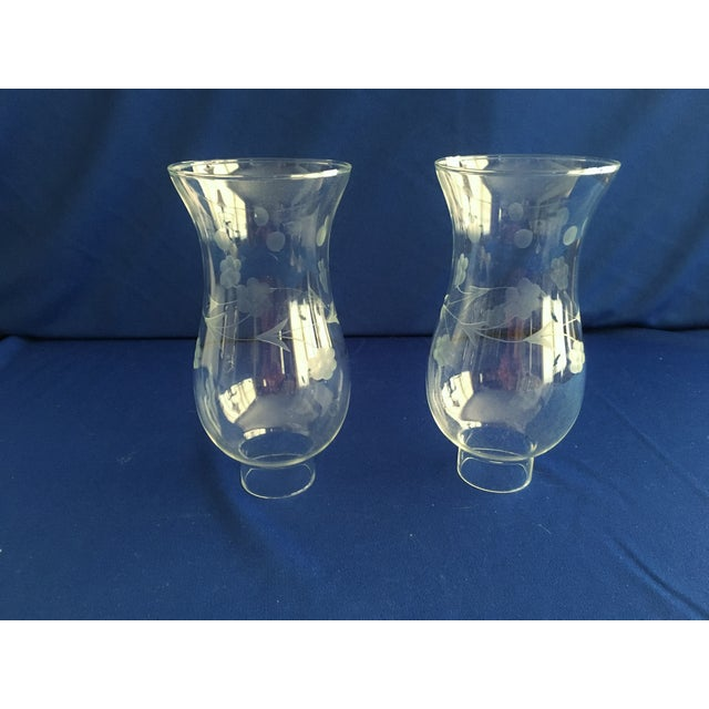 Towle Sterling Silver Hurricane Lamps - A Pair - Image 8 of 9
