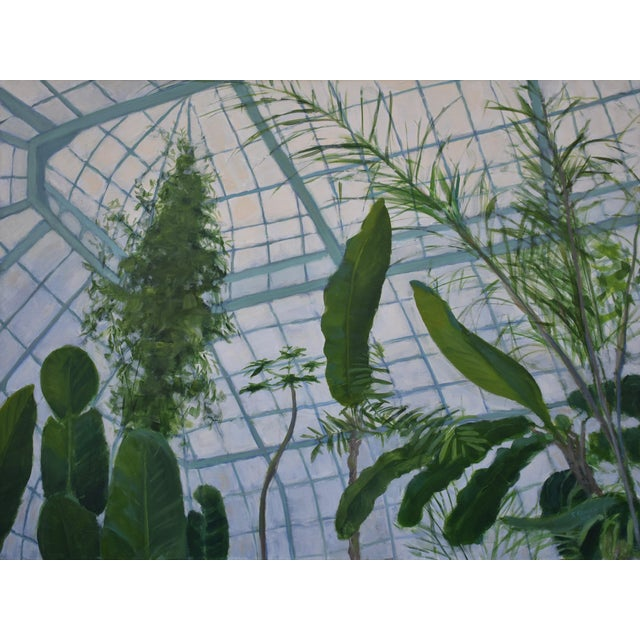 """""""Greenhouse in Winter"""" Contemporary Painting by Stephen Remick For Sale - Image 10 of 11"""