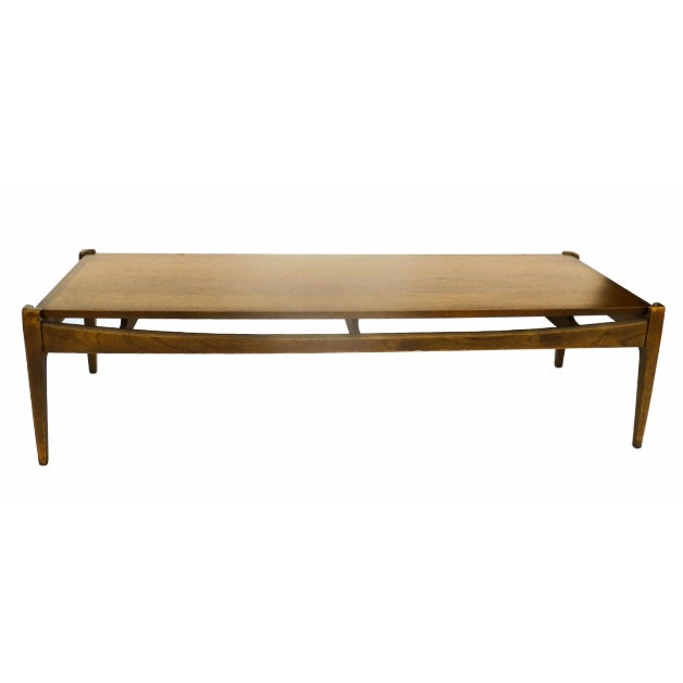 Bassett Mid-Century Modern Coffee Table - Image 1 of 10