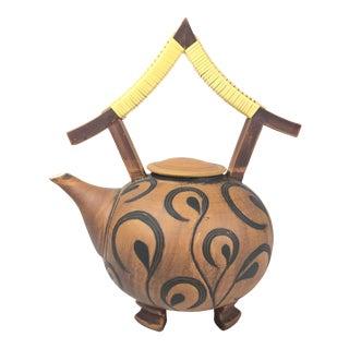 Judy Weeden Modern Teapot