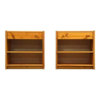 Idé Møbler Solid Pine Nightstands- a Pair For Sale