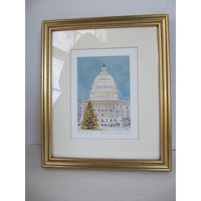 Christmas at the Capitol, Artist Proof - Image 6 of 8