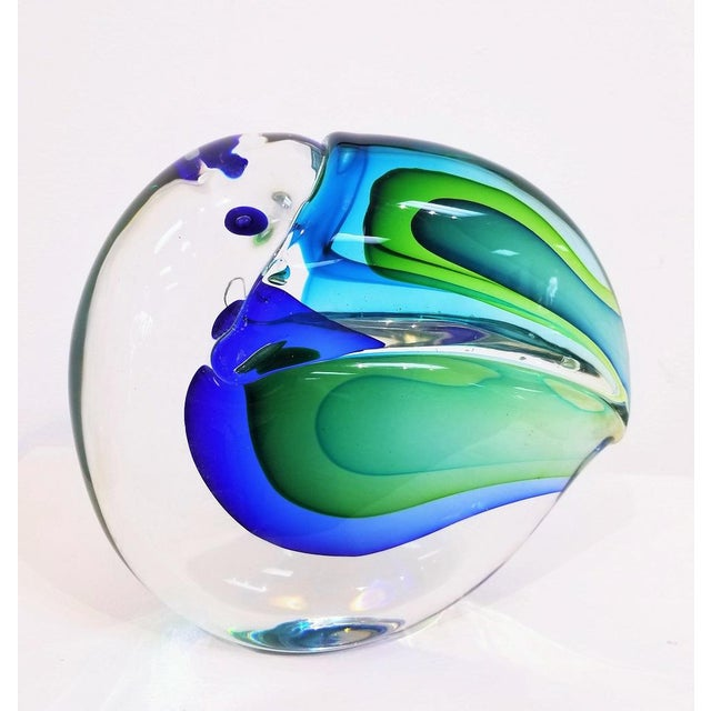 Mid-Century Modern 1960s Vintage Antonio Da Ros Murano Glass Toucan For Sale - Image 3 of 9