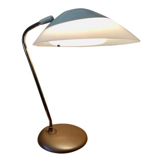 "Vintage Gerald Thurston for Lightolier ""Saucer"" Desk/Table Lamp 1950s For Sale"