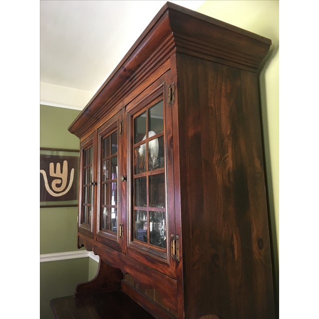 1970s Vintage Dining Room Hutch - Image 5 of 7