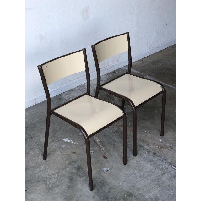 vintage mullca 510 schoolhouse chair a pair chairish
