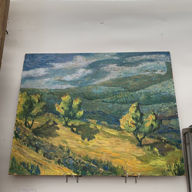 California Plein Air Landscape Painting For Sale In Seattle - Image 6 of 6
