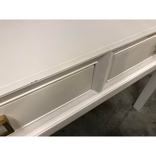 Somerset Bay Console Table For Sale - Image 9 of 13