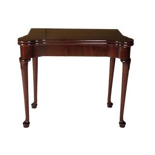 Circa 1760 George III English Concertina Game Table