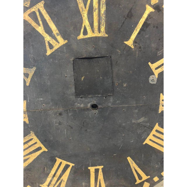 19th Century Large Antique Clock Face For Sale - Image 5 of 7