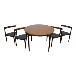 Hans Olsen for Frem Rojle Dining Table & Chairs