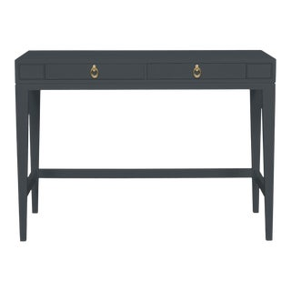Casa Cosima Living Issa Counter Height Desk - Raccoon Fur For Sale