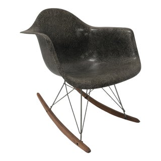 1950s Vintage Charles and Ray Eames Rocking Chair For Sale