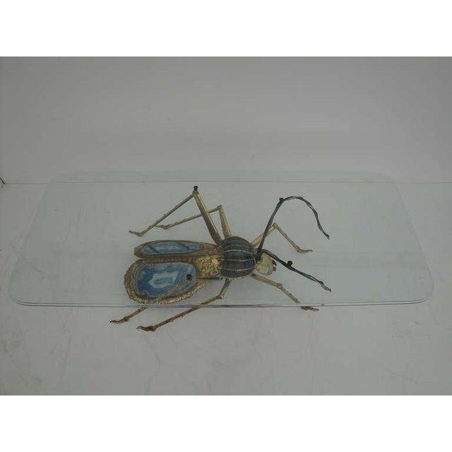 Henri Fernandez Beetle Sculpture or Coffee Table for Atelier Duval-Brasseur - Image 5 of 10