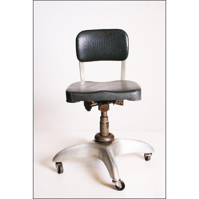 Vintage Industrial Swivel Office Chair by Goodform - Image 7 of 11