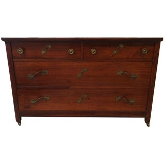 French Inspired Rosewood & Bronze Dresser