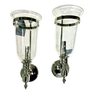 Currey and Company Fallbrook Wall Sconce - a Pair For Sale