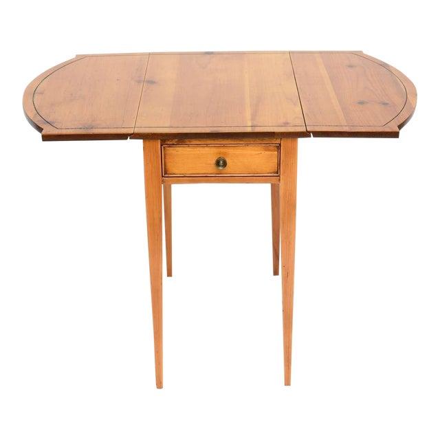 1940s Georgian Pine Pembroke Table For Sale