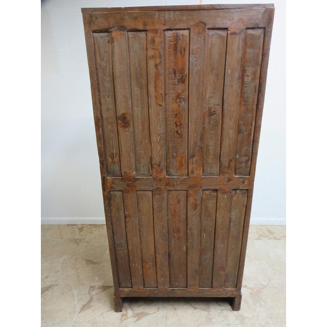 Antique Primitive Architectural Salvage Hutch Door China Cabinet Cupboard H For Sale In Philadelphia - Image 6 of 7
