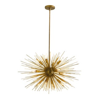 Arteriors Brass Zanadoo Chandelier For Sale