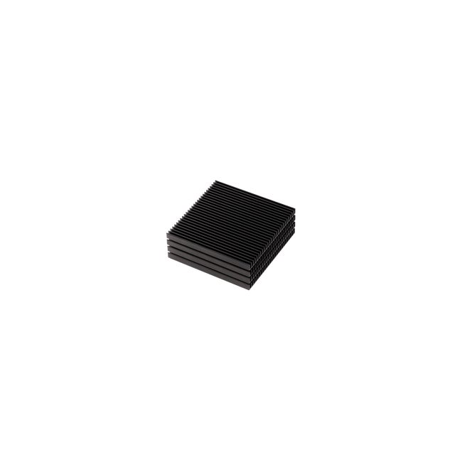 Contemporary Black Fin Coasters - Set of 4 For Sale