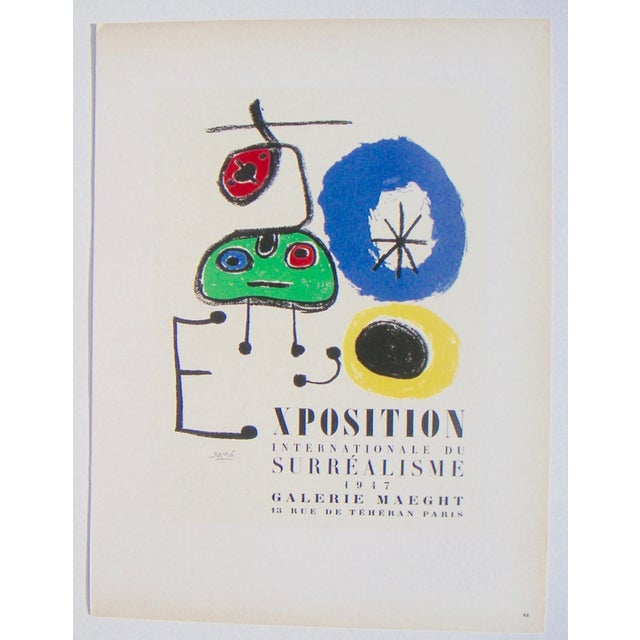 Miro Exhibition Poster - Image 2 of 3
