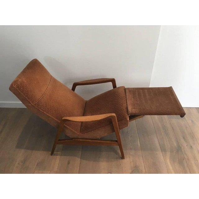 Rare Pair of Reclining Armchairs by Knoll Antimott - Image 9 of 11