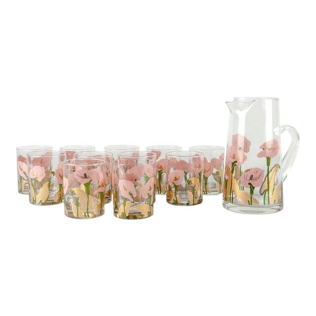 Vintage Martini Cocktail Glassware - Set of 11 For Sale