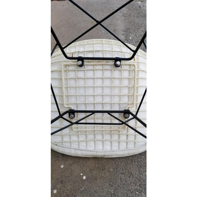 Metal Eames Wire Seat Rkr Rocker For Sale - Image 7 of 9