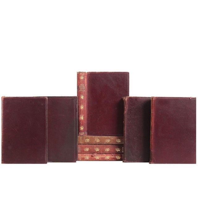 Distressed Leather Dickens Books - Set of 12 - Image 2 of 2