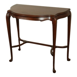 """Knoxville Antique Mahogany 33"""" Console Table For Sale"""