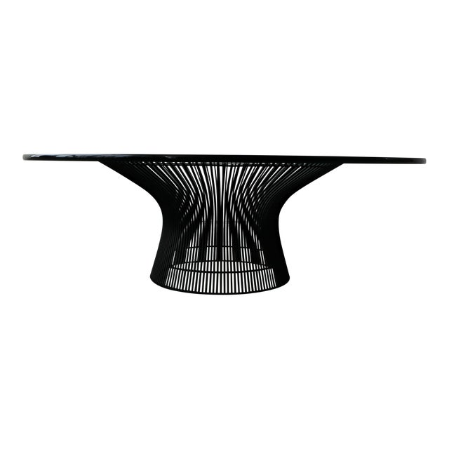 Authentic Mid Century Wire & Glass Coffee Table by Warren Platner for Knoll For Sale
