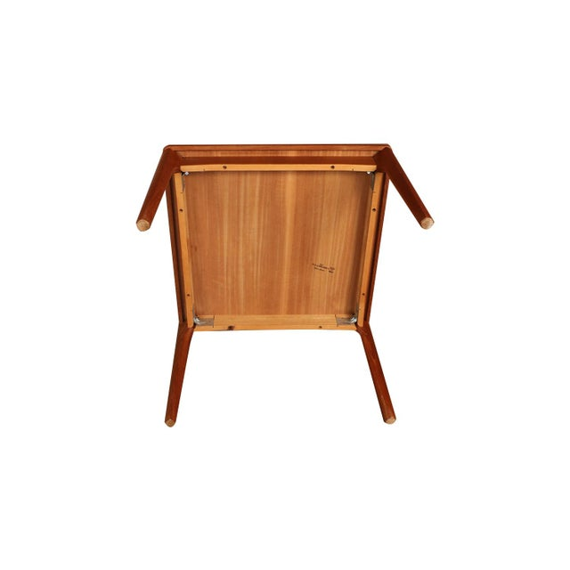 Mid Century Vejle Stole Mobelfabrik Danish Side Table For Sale In Baltimore - Image 6 of 11