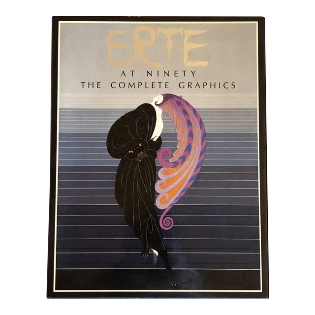 """""""Erte at Ninety the Complete Graphics"""" Book For Sale"""