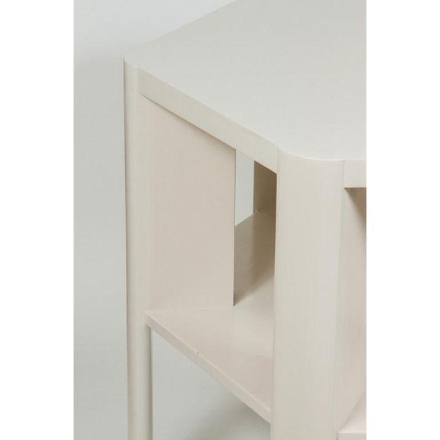 Minimalist Modern Lacquered Library Table by Martin and Brockett For Sale - Image 4 of 7