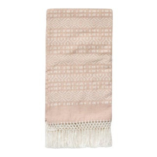 Blush Chiapas Throw For Sale