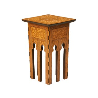 Small Inlaid Turkish Table