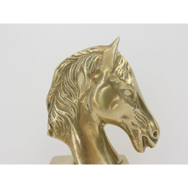 Brass Horse Bust - Image 6 of 6