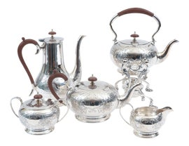 Image of Silver Coffee and Tea Service