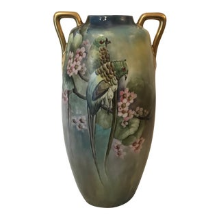 Early 20th Century Vintage Oscar & Edgar Gunther Austrian Vase For Sale