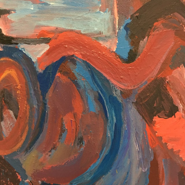 Original Abstract Oil Painting on Canvas - Image 4 of 6