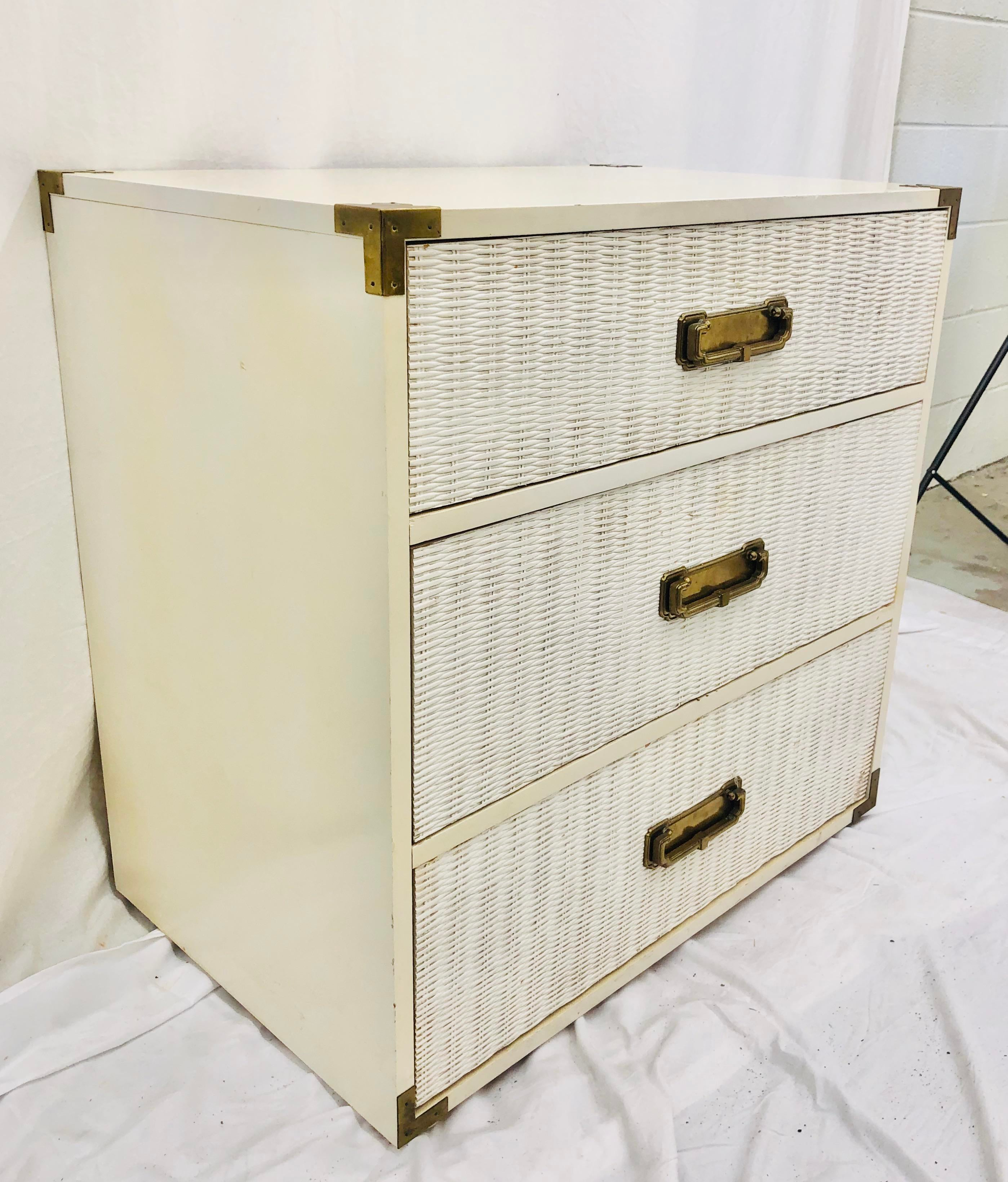 Old Hollywood Tabletop Chest