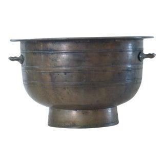 Vintage Brass Censer Pot For Sale