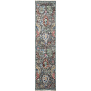 """Iksan, Eclectic Area Rug - 2' 6"""" X 8' 3"""" For Sale"""
