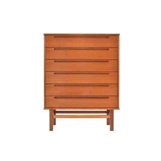 Danish Modern Teak Dresser/Chest by Nils Jonsson