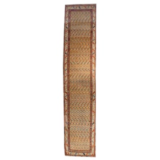 Antique Bidjar Runner - 3′4″ × 16′