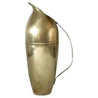 Italian Brass Pitcher in Style of Ponti