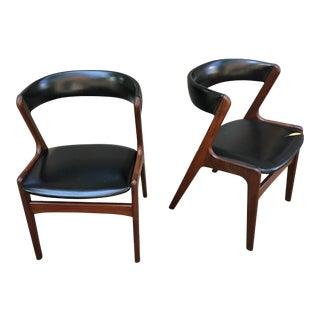 Kai Kristiansen Teak Chairs - a Pair For Sale