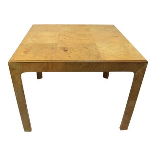 Henredon Phase Two Burl Parsons Table For Sale
