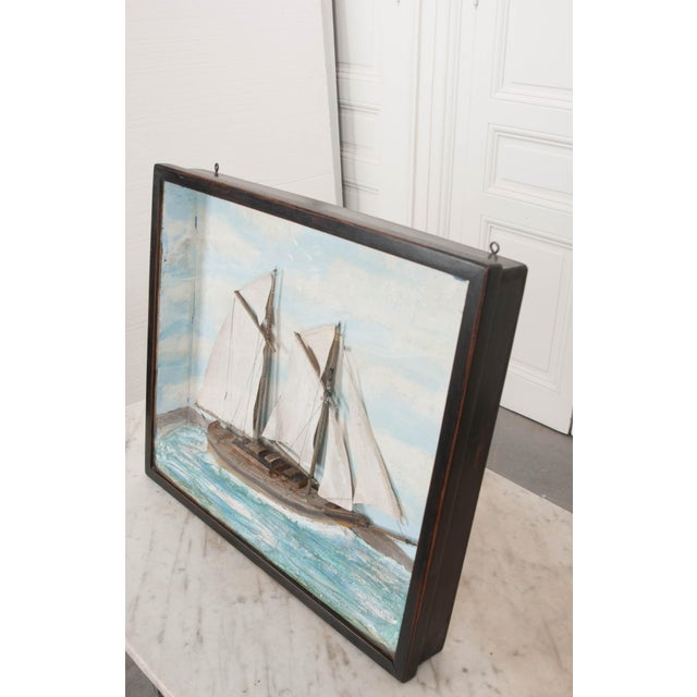19th Century English Nautical Diorama For Sale In Baton Rouge - Image 6 of 8